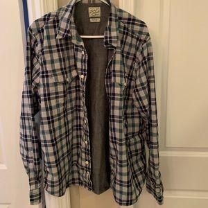 Lucky Brand long sleeve button up shirt
